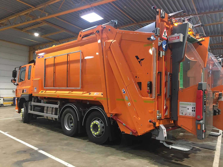 CF 340 FAN – Camion poubelle foto 0